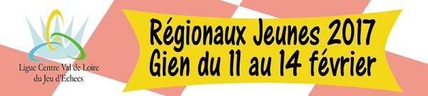 Les Régionaux Jeunes à Gien du 11 au 14 février 2017 !