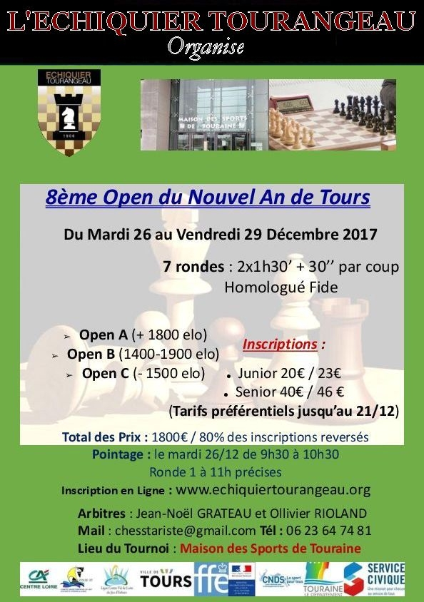 Open du Nouvel An - TOURS