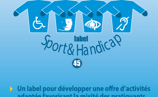"""Le Label """"Sport et Handicap"""" pour le CDJE45 !!!!!"""