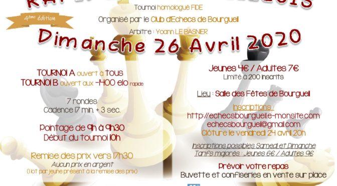 4ème Rapide Bougueillois  du 26 Avril 2020